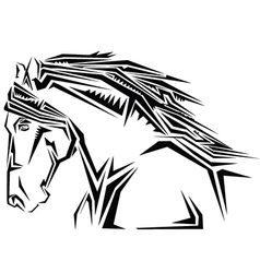 Stylised animal vector image
