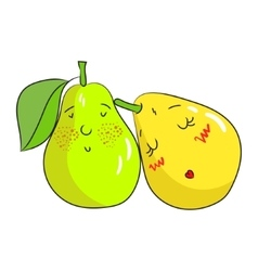 Fruit pear vector image vector image