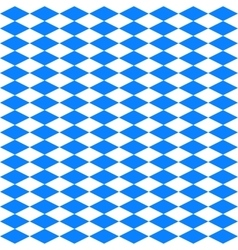 Oktoberfest Blue and White Seamless Pattern vector image