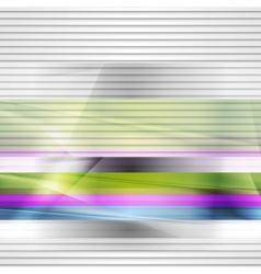 Abstract stripes design vector