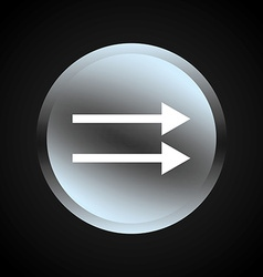 Arrow button vector