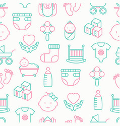 Bacare seamless pattern vector