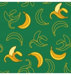 Bananas Seamless Pattern vector image