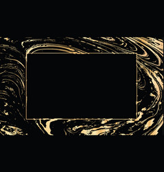 Black and gold design template for party vector