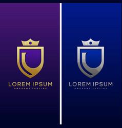 Luxury letter l concept design template vector