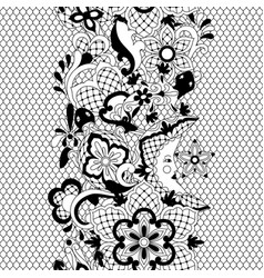 Mexican lace seamless pattern vector