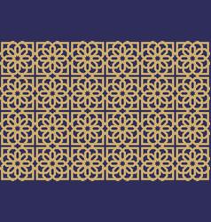 Neoclassic seamless oriental pattern islamic vector