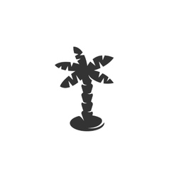 Palm icon isolated on white background vector