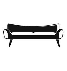 room sofa icon simple style vector image