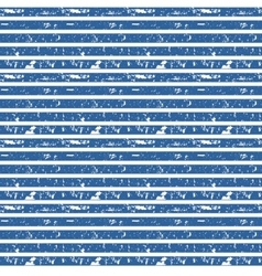 Seamless nautical striped pattern vector image
