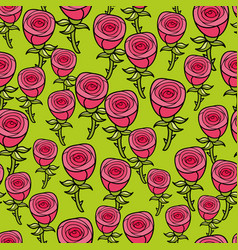 Seamless pattern for romantic case vector