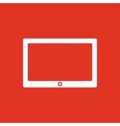 The tablet icon Tablet symbol vector image