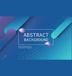 trendy gradient poster vector image