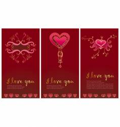 Valentine's day pattern 5 vector image