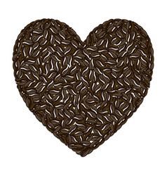 coffee love - drink vector image