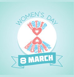 8 march womens vector