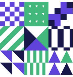 abstract geometric banner seamless geometric vector image