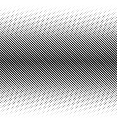 abstract halftone black background Gradient retro vector image