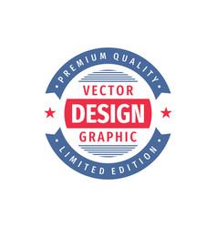 design graphic - concept logo circle vector image