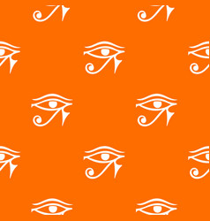 Eye of horus egypt deity pattern seamless vector