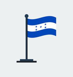 flag of hondurasflag stand vector image