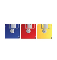 Floppy disk vector