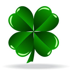 icon of clover vector image