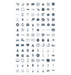 Icons signs symbols and pictograms vector