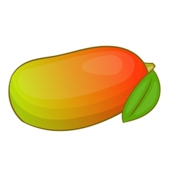 Mango icon cartoon style vector