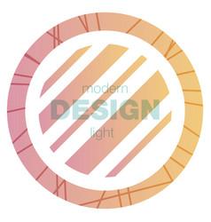 minimalistic design creative concept modern vector image