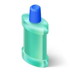 Mouthwash vector