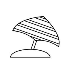 Parasol icon image vector