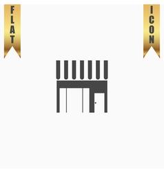 Store shop icon vector image