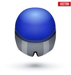 time trial bicycle helmet vector image