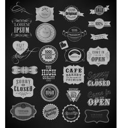 Set of vintage vector image