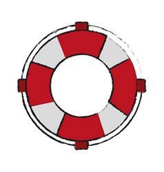 life preserver belt icon image vector image