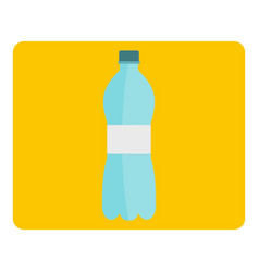 bottle of water icon isolated vector image
