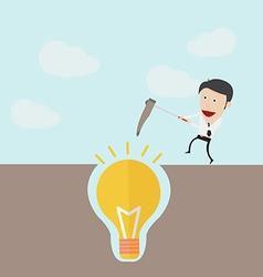 Dig idea concept vector