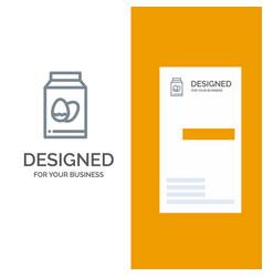 egg bottle easter holiday grey logo design and vector image