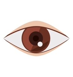 Eye and look concept vector