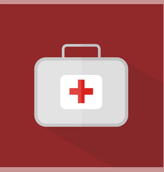 first aid kit icon set of great flat icons with vector image