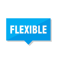 Flexible price tag vector