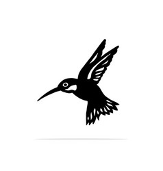 hummingbirds icon concept for vector image