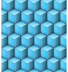 Infinity Cubes vector image