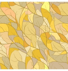 Mosaic pattern with branch silhouettes vector image