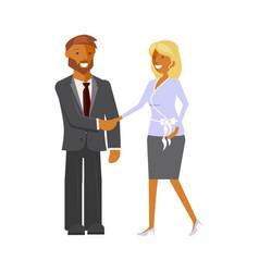 office teamwork concept vector image