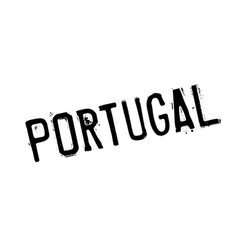 portugal rubber stamp vector image