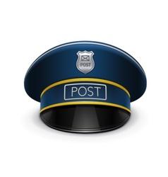 Postmans cap vector