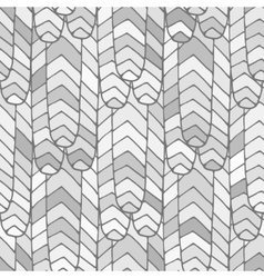 Seamless abstract pattern grey vector