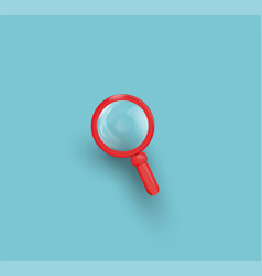 search icon loupe vector image